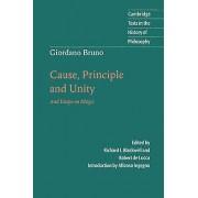Giordano Bruno Cause Principle and Unity by Giordano Bruno & Richar...