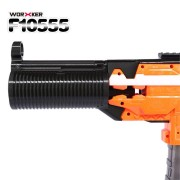 WORKER F10555 MP5-SD Bare Pipe 3D Printing Front Tube Decoration Part For Nerf N-Strike Elite