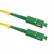 Qoltec Optic Patchcord SC/APC-SC/APC - Singlemode - 9/125 - G652D - Simplex - 3m
