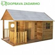 Drevený záhradný domček pre deti SIMON