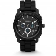 Reloj Fossil FS4487 hombre Silicon -Negro