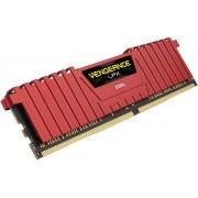 Memorie Corsair Vengeance LPX Red DDR4, 1x8GB, 2666 MHz, CL 16