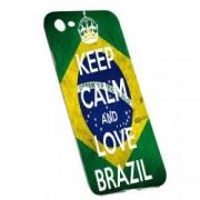 Husa de protectie Football Brazil Apple iPhone 6/6S rez. la uzura Silicon 232