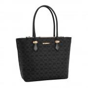 Bolsa Feminina Shopping Bag Alto Relevo Monograma Chenson 3482638