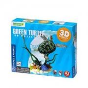 3D пъзел - Морска костенурка Диорама, 871512