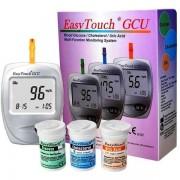 Aparat pentru masurat glicemie colesterol acid uric EasyTouch GCU