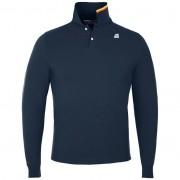 K-Way Polos & Tee-shirts printemps/été homme Slimfit ROCHEL STRETCH Bleu Marine Foncé - XL