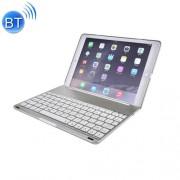 For iPad Pro 9.7 inch Aluminium Alloy Wireless Bluetooth Backlight Keyboard(Silver)
