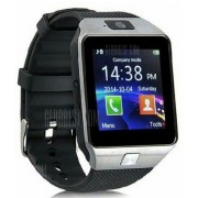 Digital Smart Watch Wristwatch Men Bluetooth Camera SIM Card SD Supported Silver