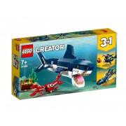 Set de constructie LEGO Creator Creaturi marine din adancuri