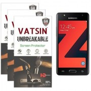 Pack of 3 Impossible Glass (Not Tempered Glass) For Samsung Z4 by Vatsin