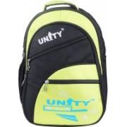 UNITY BAGS Polyester School Bag |Shoulder Backpacks | Casual Bag for Girls & Boys 35 L Backpack(Black, Yellow)