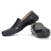 Clarks Malta Coast Genuine Leather Slip On Shoes For Men(Black)