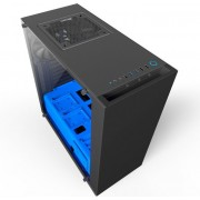 Kućište NZXT S340 Elite Window Black/Blue, CA-S340W-B5
