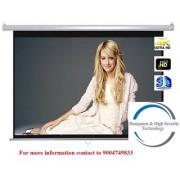 Screen Technics 92 Inch Diagonal Instalock Projector Screen Premium fabric HD 3D with Dampness High Severity Technology