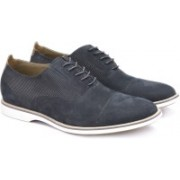 Clarks Feren Lace Black Leather Lace up For Men(Black)