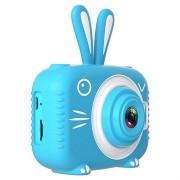Dier Vorm Kids 20mp Digitale Camera X5 - Konijn / Blauw
