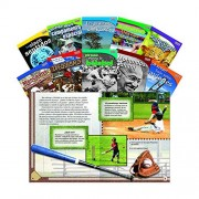 Shell Education 16108 Time For Kids Informational Text Grade 3 Spanish Set 1, 10 Book Set