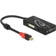 DisplayPort HDMI DVI D-Sub (VGA), 0.2, negru (62855)