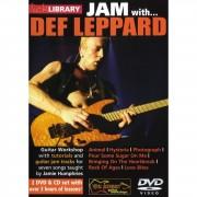 Roadrock International Lick Library: Jam With Def Leppard DVD, CD
