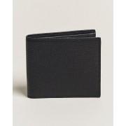 Smythson Large Grain 6 Credit Card Wallet Black