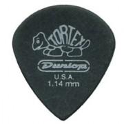 Dunlop 482R1.14 Tortex Pitch Black Jazz III 1.14mm 72/Bag