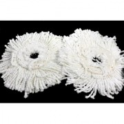 WayMore Microfiber Spin Mop Refill (White Pack of 2)