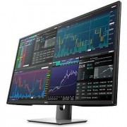 "Monitor LED IPS Dell 43"", Ultra HD, VGA, HDMI, Display Port, mini Display Port, USB, Boxe, Negru/Argintiu, P4317Q"