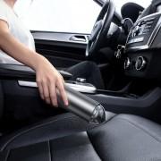 Aspirator auto, wireless, mini, Baseus CRXCQ01-01, portabil, 65 W, 12 V, Gri