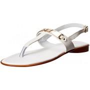 Bata Women's Charles White Fashion Sandals - 5 UK/India (38 EU)(5611963)