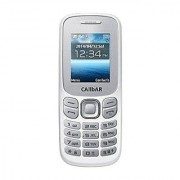 Callbar Bold 312 Dual Sim Mobile Phone With 1.8 Inch Display Auto Call Recorder 1050 Mah Battery (White Color)