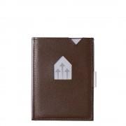 Exentri Leather Wallet RFID brown Dames portemonnee