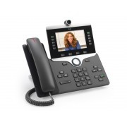 Cisco IP Phone 8865 Wired handset Wi-Fi Charcoal IP phone
