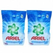 Pachet 2 bucati - Ariel Touch of Lenor Fresh Detergent automat Pudra cu parfum proaspat 2 x 2kg