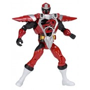 Power Rangers Ninja Steel 5-Inch Armored Red Ranger Action Hero Figure