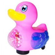 Dynamic Little Duck with Flashing Lights and Music Flutter Wings for Kids
