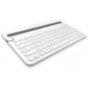 KBD, Logitech K480, Bluetooth, Wireless, Multi-Device, White (920-006367)