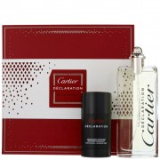 Declaration Cartier 100 ML EDT SPRAY + 75ml stick deodorant gift set