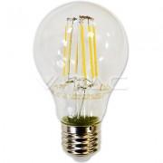 LAMPADINA LED E27 A67 FILAMENTO 8W BIANCO FREDDO 300 GR VT-1978-LED4409