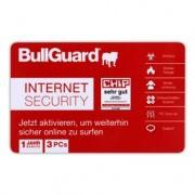 BULLGUARD Antivirus Internet Security (multilangue) 3PC 1an