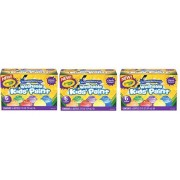 Crayola Washable Kid's Paint, Glitter Colors, 6 Bottles, 2 Ounce Each, (Pack of 3)