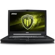 MSI Portátil WorkStation MSI - WT75 8SM-011ES (17.3'' - Intel Core i7-8700 - RAM: 32 GB - 1 TB HDD + 512 GB SSD - NVIDIA Quadro P5200)