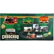 Choo Choo Classical Toy Train Set with Light Sound Smoke