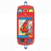 Acuarele Connector Faber-Castell 12 culori / cutie plastic