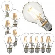 [lux.pro] 10 x LED 5 Watt E27 LED žarulja