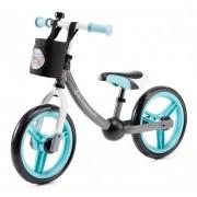 KinderKraft Rowerek biegowy Kinderkraft 2WAY Next Turquoise z akcesoriami