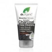 Dr. Organic Charcoal Mélytisztító arcradír aktív szénnel - 125ml