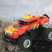 8024 1: 58 4CH Mini RC Off Road Auto Con Control Remoto (rojo + Amarillo)