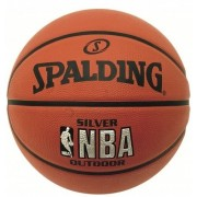 Minge baschet Spalding NBA Silver Youth Outdoor