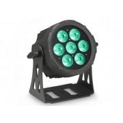 Cameo Flat Pro LED Studio PAR 7, Black, 7x10W